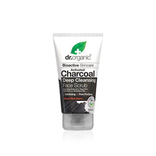 Exfoliante Facial de Carbon Activo Organico 125 ml.
