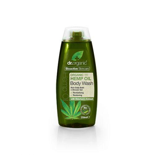 Gel de Baño de Aceite de Cañamo Organico 250 ml.