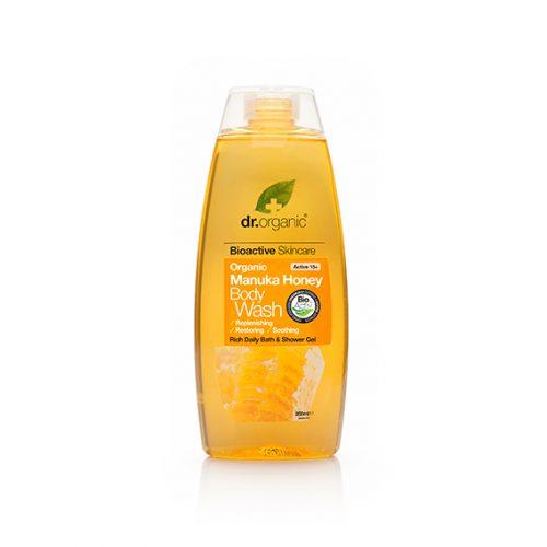 Gel de Baño de Miel de Manuka Organica 250 ml.