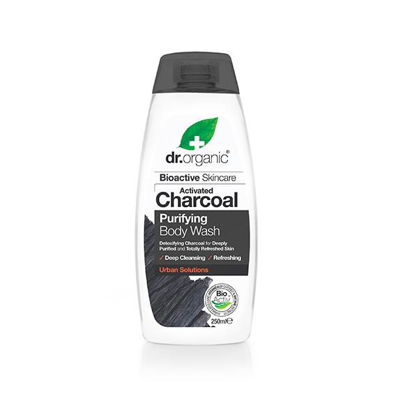 Gel de Ducha de Carbon Activo Organico 250 ml.