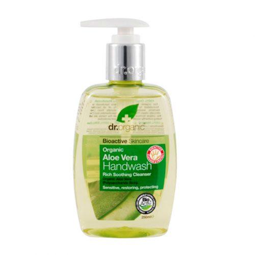 Jabon para Manos de Aloe Vera Organica 250 ml.
