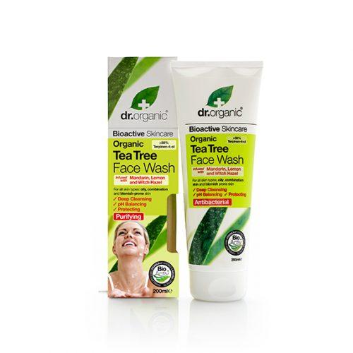 Limpiador Facial de Arbol de Te Organico 200 ml.
