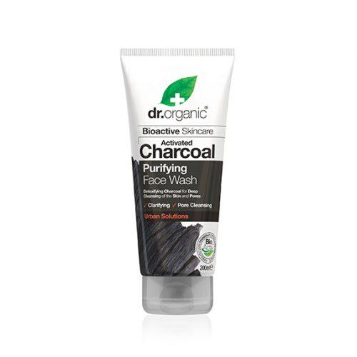 Limpiador Gel Facial de Carbon Activo Organico 200 ml.