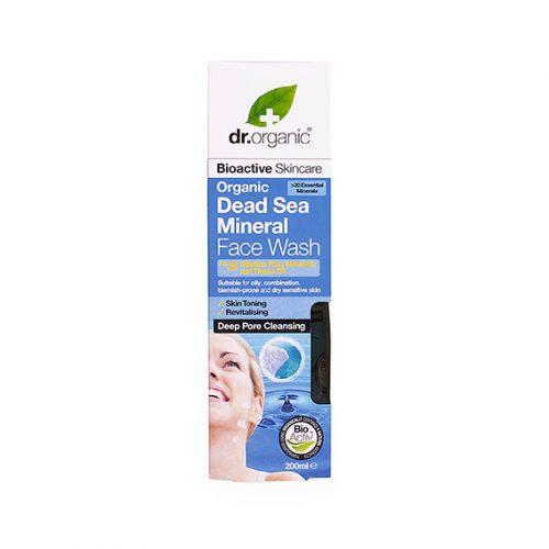 Limpiador Facial de Mineral Organico del Mar Muerto 200 ml.