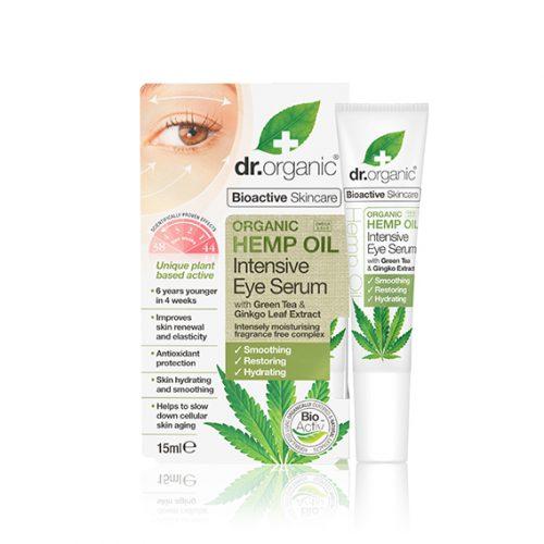 Serum Intensivo para Ojos de Aceite de Cañamo Organico 15 ml.