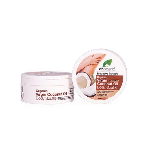 Souflfle Corporal de Aceite de Coco Virgen Organica 200 ml.