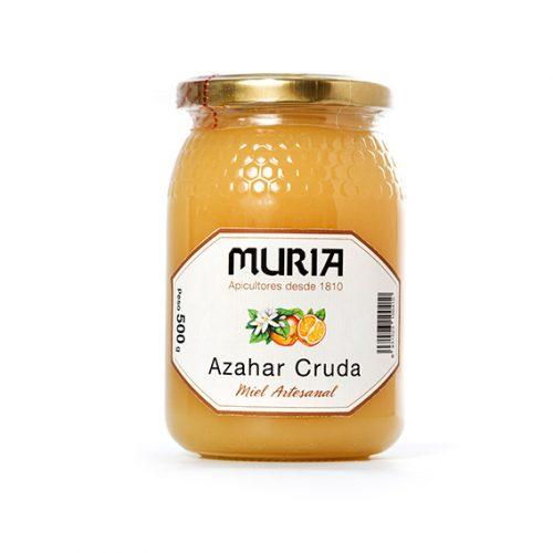 Miel de Azahar Cruda 500 gr