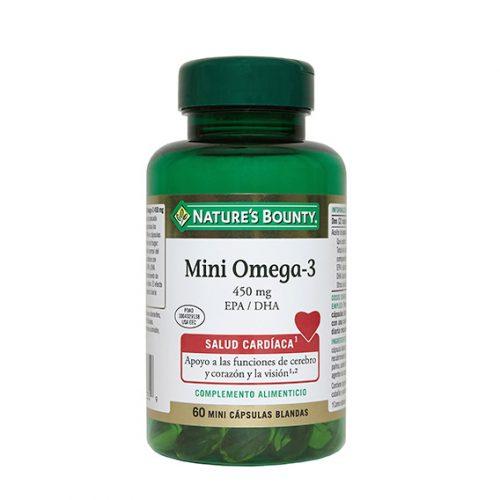 Mini-Omega 3 450mg. 60 Mini Caps. Blandas