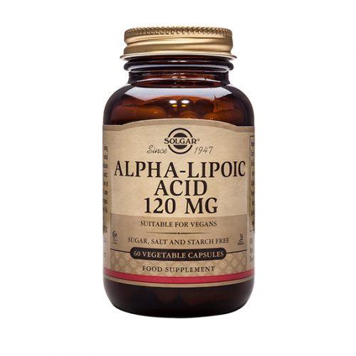 Ácido Alfa Lipoico 120 mg Vegicaps 60