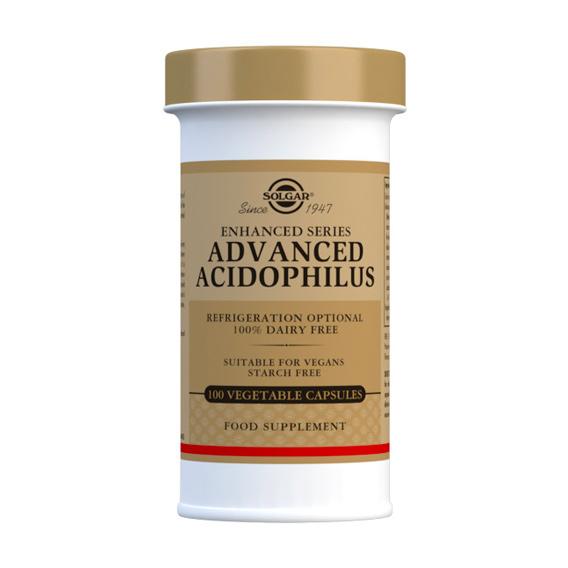 Acidophilus Avanzado Cápsulas Vegetales 100