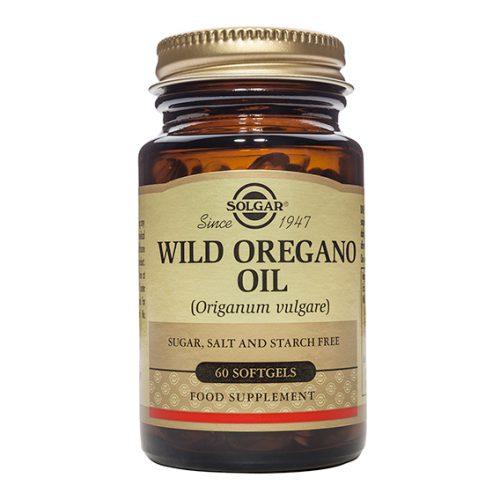 Aceite de Orégano Silvestre Cápsula Gelatina Blanda 60