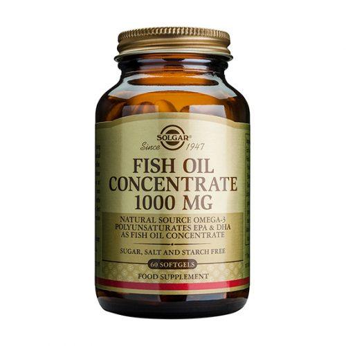 Aceite de Pescado Concentrado 1.000 mg Cáp. Gel. Blanda 60