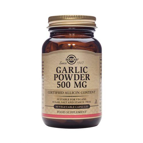 Ajo en polvo 500 mg Vegicaps 90