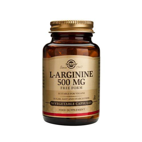 L-Arginina 500 mg Vegicaps 50