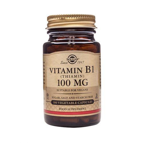 Vitamina B1(Tiamina) 100 mg Cáps. 100