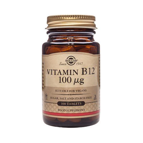 Vitamina B12 100 mcg Compr. 100( cianocoabalamina)