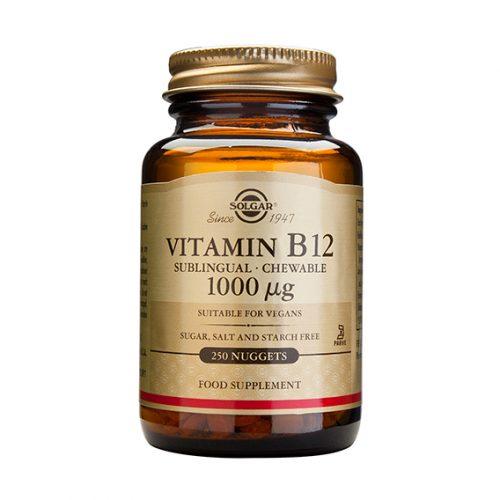 Vitamina B12 1.000 mcg Sublingual 250 ( cianocoabalamina)