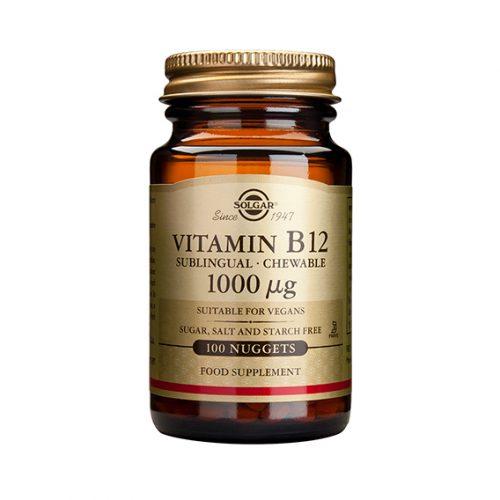 Vitamina B12 1.000 mcg Sublingual 100 ( cianocobalamina)