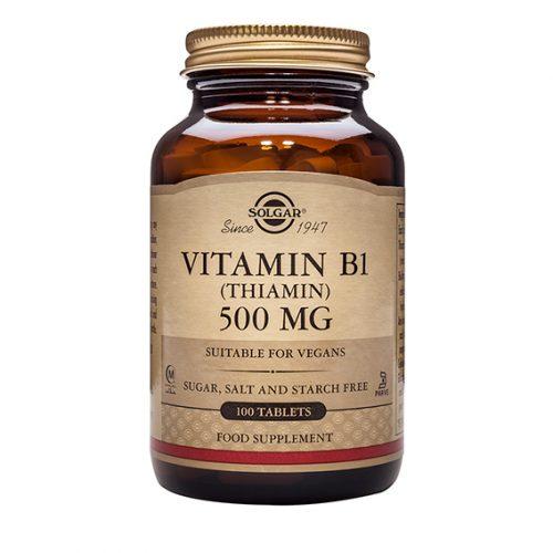 Vitamina B1 (Tiamina) 500 mg Compr. 100