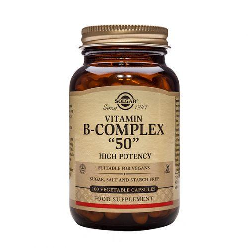 """B Complex """"50"""" Caps. 100"""