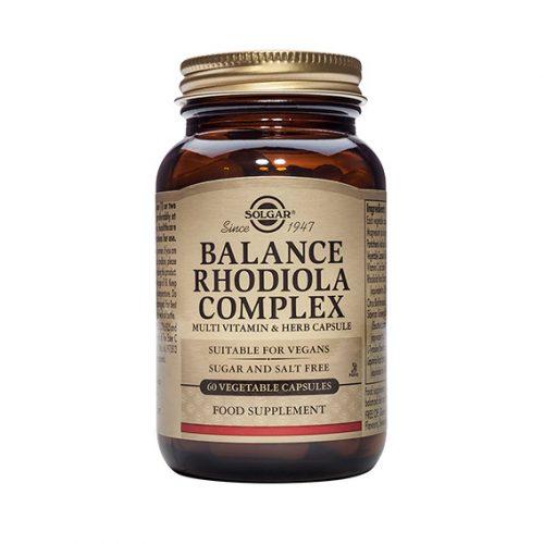 Balance Rodiola Complex 60 cápsulas vegetales