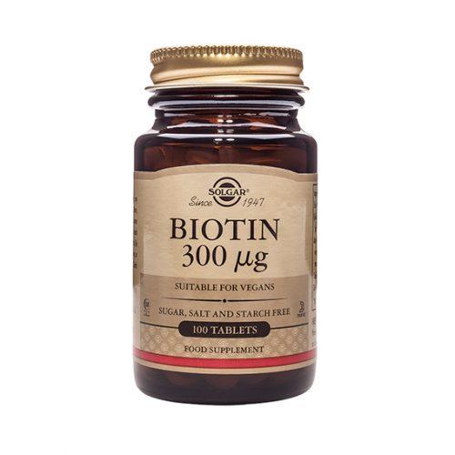 Biotina 300 mcg 100 Compr.