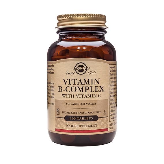 B Complex con Vitamina C Compr. 100