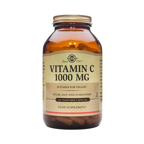 Vitamina C 1000 mg Cáps.Vegetales 250