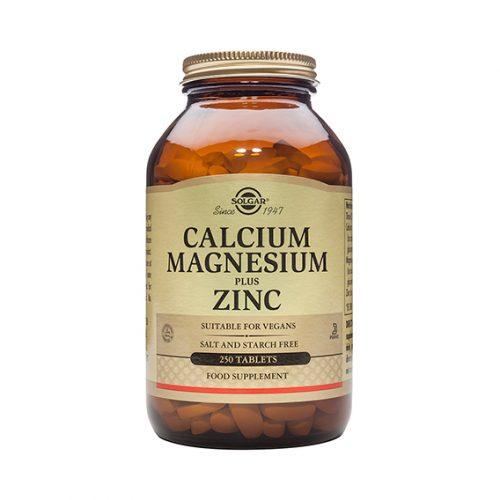 Calcio Magnesio Plus Zinc Comprimidos 250