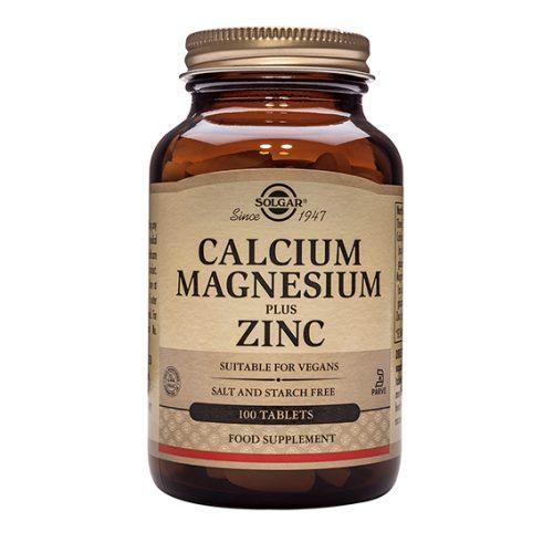 Calcio Magnesio Plus Zinc Comprimidos 100