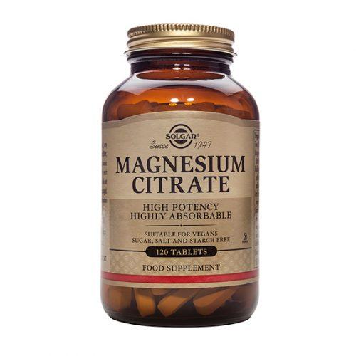 Citrato de Magnesio 120 Comprimidos