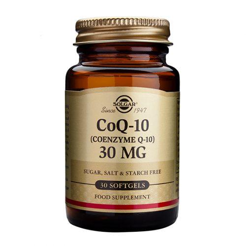 Coenzima CoQ10 30 mg en Aceite 30 Cápsulas Blandas