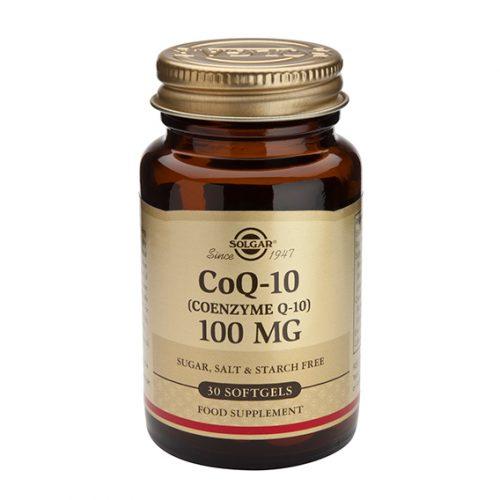 Coenzima CoQ10 100 mg en Aceite 30 Cápsulas Blandas
