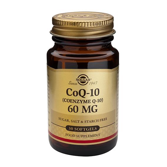 Coenzima CoQ10 60 mg en Aceite 30 Cápsulas Blandas