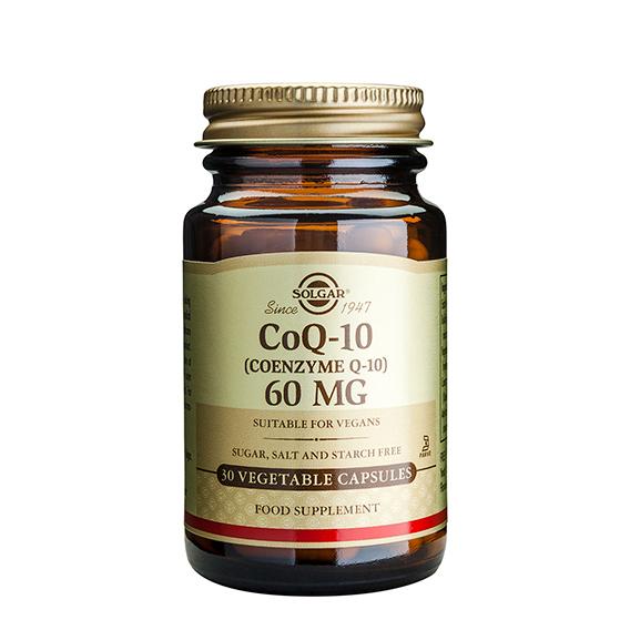 Coenzima CoQ10 60 mg en Polvo 30 Cápsulas Blandas