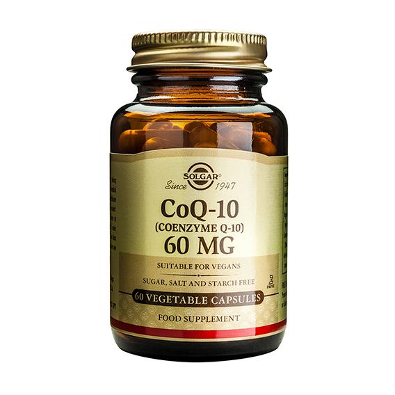 Coenzima CoQ10 60 mg en Polvo 60 Cápsulas Blandas
