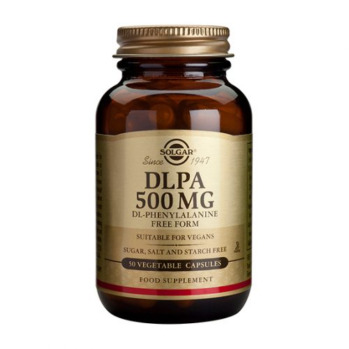 D.L.P.A. 500 mg Vegicaps 50