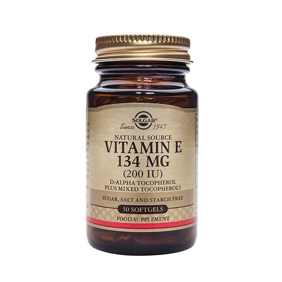 Vitamina E 200 U.I. 134 mg 50 Cápsulas