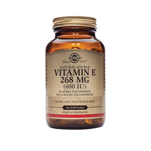 Vitamina E 400 U.I. 268 mg 100 Cápsulas Blandas