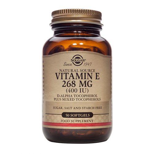 Vitamina E 400 U.I. 268 mg 50 Cápsulas Blandas