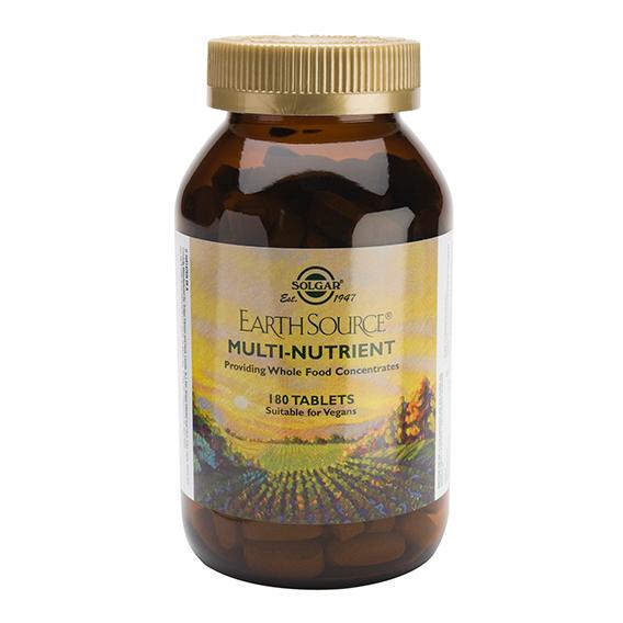 Earth Source ( con base nutritiva ) 180 Comprimidos