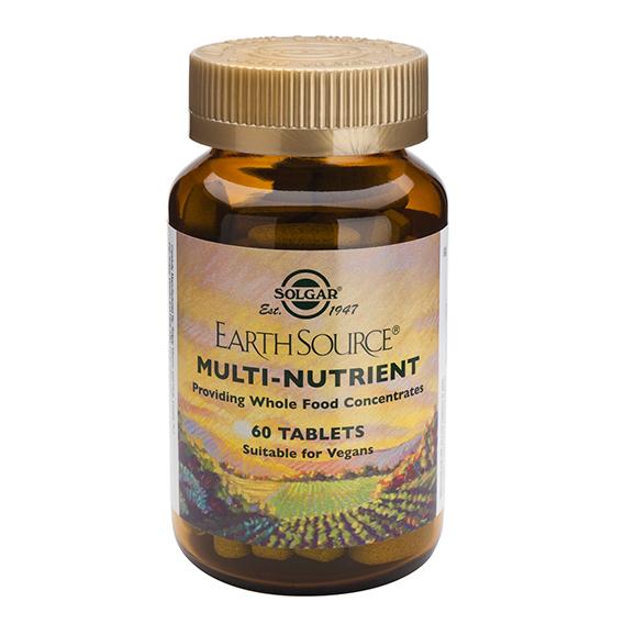 Earth Source ( con base nutritiva ) 60 Comprimidos