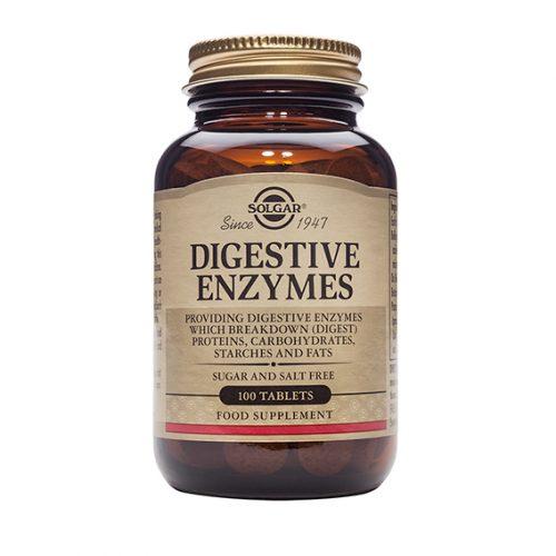 Enzimas Digestivas 100 Comprimidos