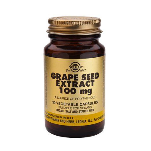 Extracto de Semilla de Uva 100 mg 30 Vegicaps