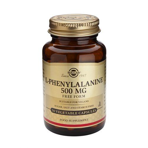 L-Fenilalanina 500 mg Vegicaps 50