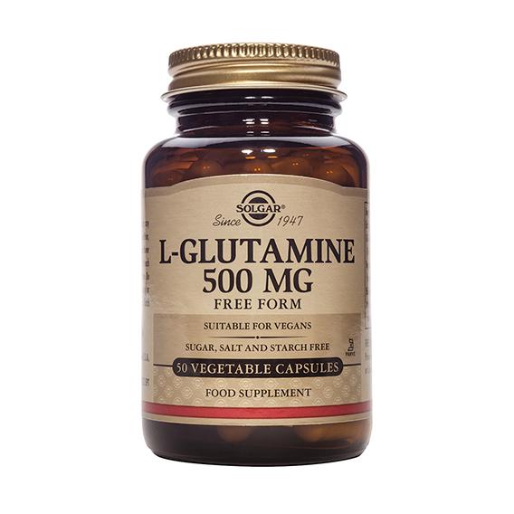 L-Glutamina 500 mg Vegicaps 50