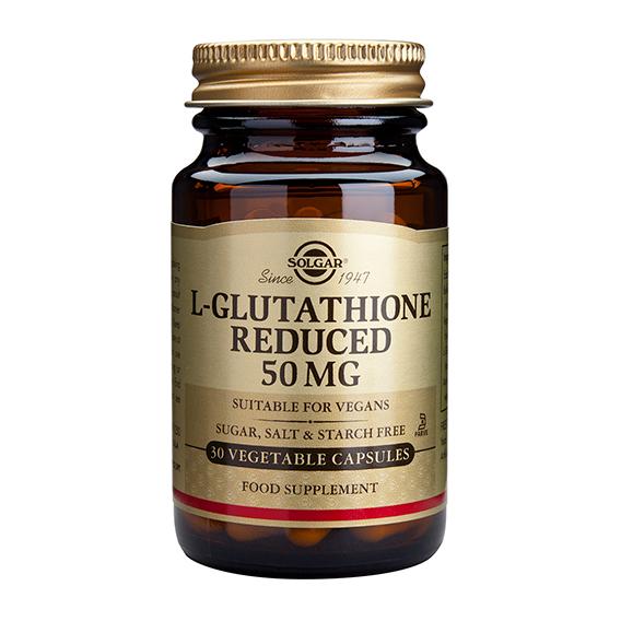 L-Glutation 50 mg Vegicaps 30
