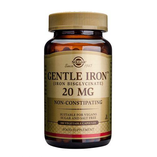 Hierro Gentle 20 mg Cáps.Vegetales 180
