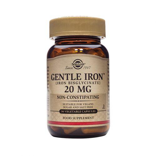 Hierro Gentle 20 mg Cáps.Vegetales 90