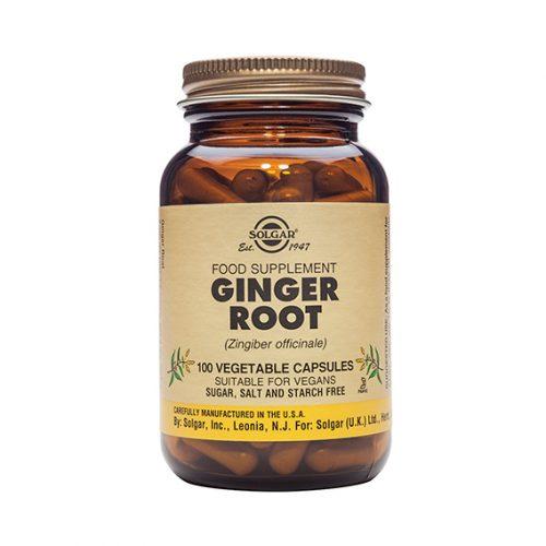 Jengibre (Zingiber Officinale) 520 mg Vegicaps 100